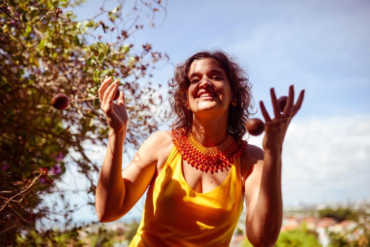 Laura Tamiana é também produtora cultural e artista visual