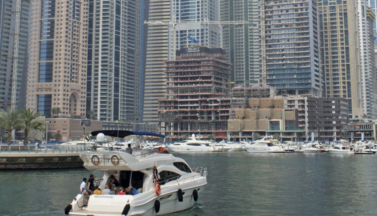 Dubai Marina é uma das áreas mais nobres da cidade