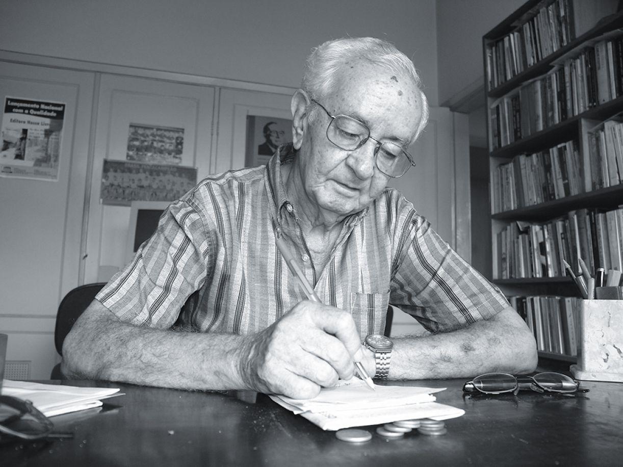 O escritor pernambucano Gilvan Lemos