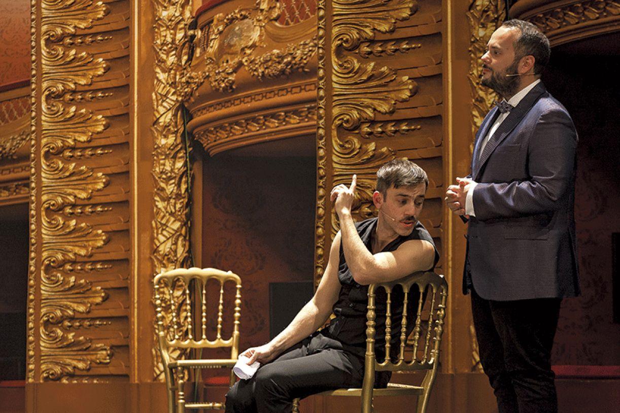 O grupo português Mala Voadora participou do Trema!, em 2015, apresentando o espetáculo Hamlet
