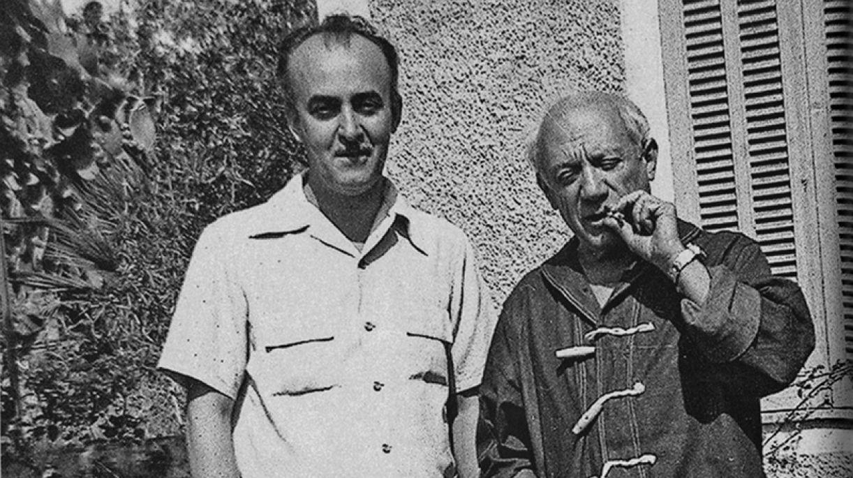 Cícero Dias e Pablo Picasso