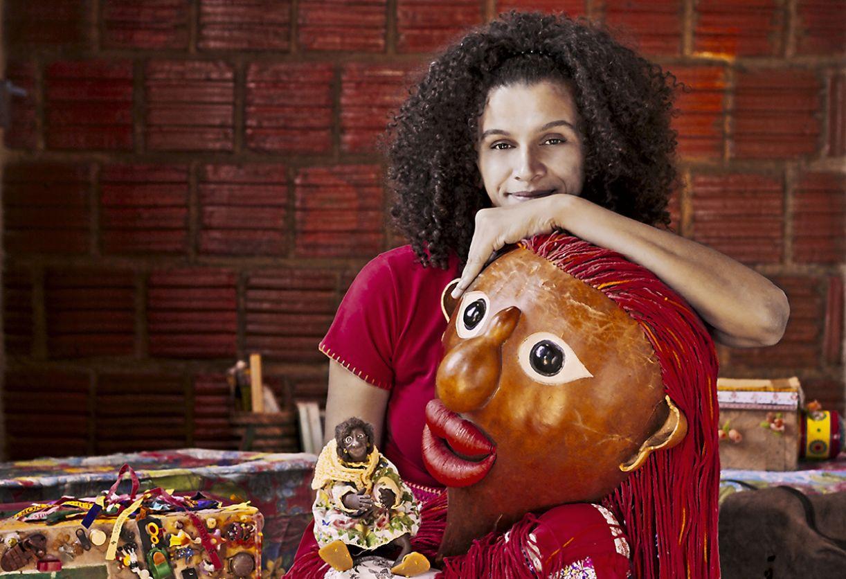 A atriz e multiartista Odília Nunes