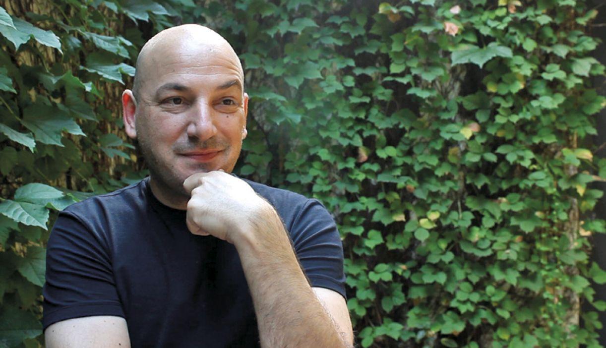 O escritor Matías Alinovi