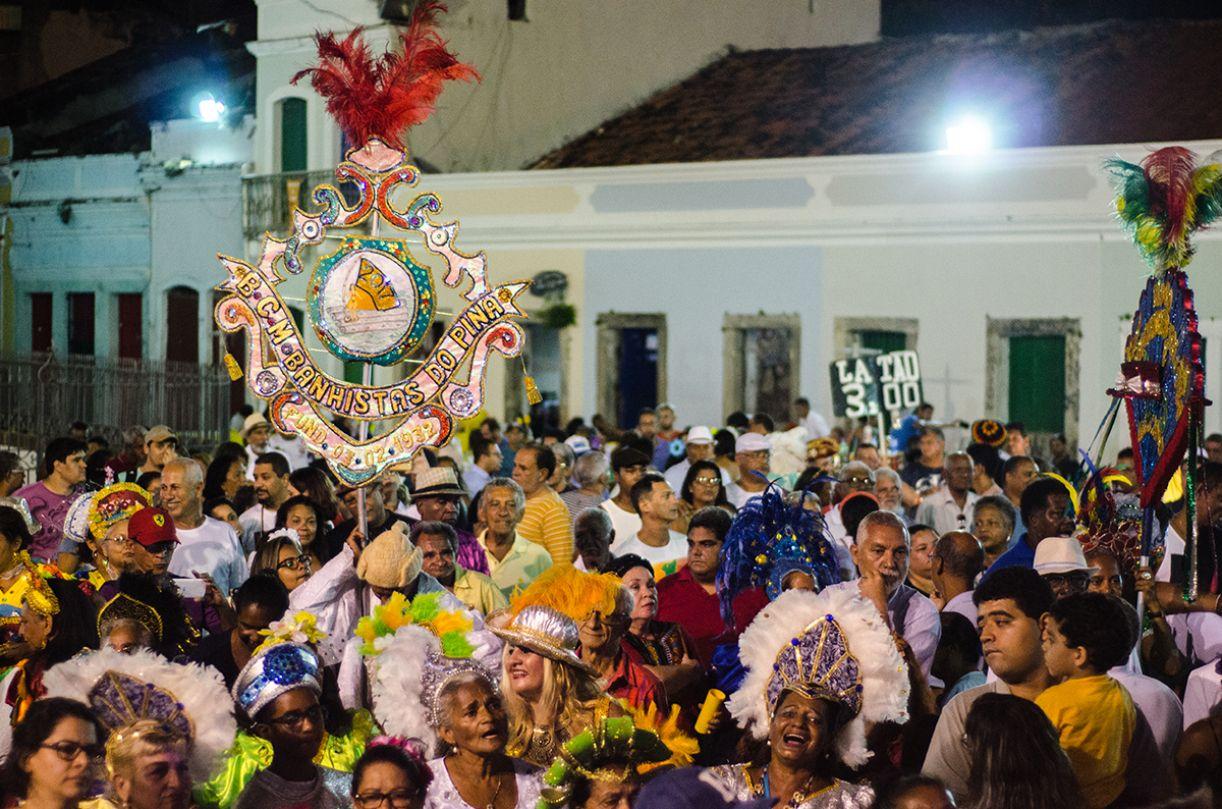 Desfile do Banhistas do Pina no Pátio de São Pedro, Recife