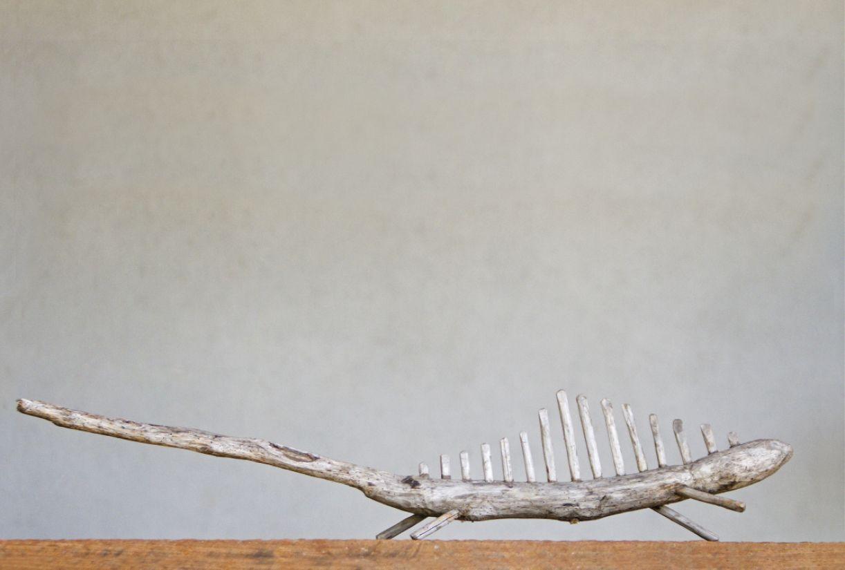 Escultura de Mestre Abias