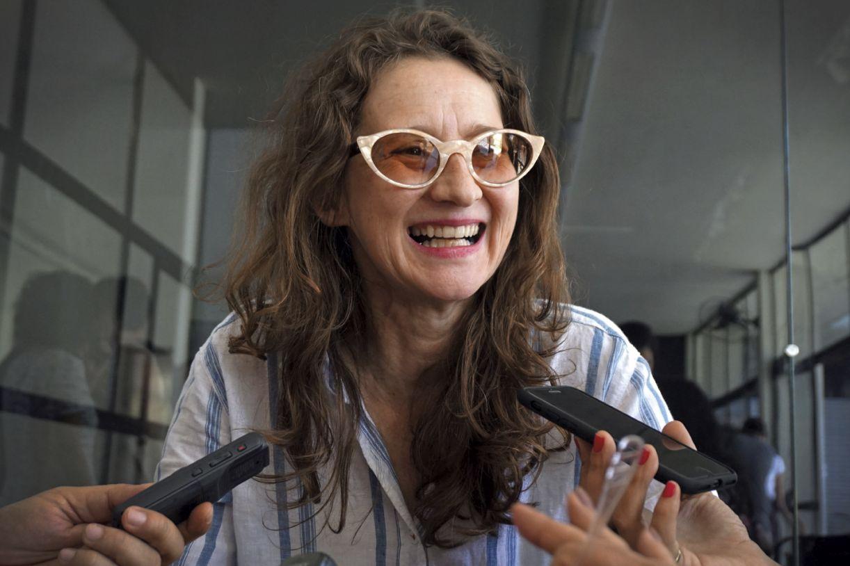 A cineasta argentina Lucrecia Martel, em passagem pelo Janela Internacional de Cinema do Recife, em  2017