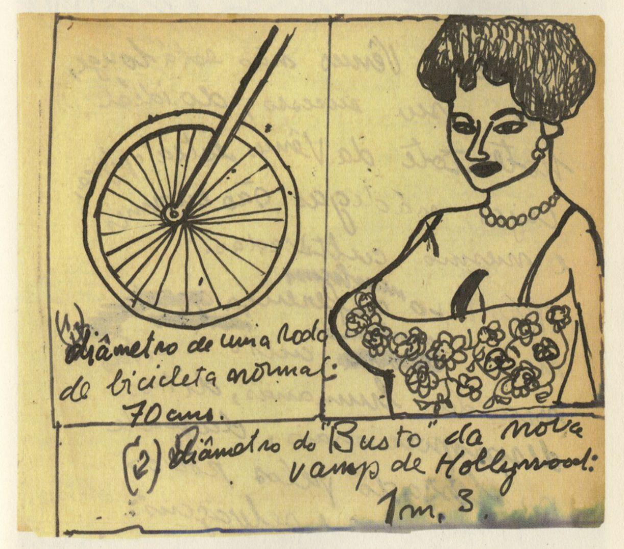 Ilustração, dentre as muitas, dos diários de Francisco Brennand
