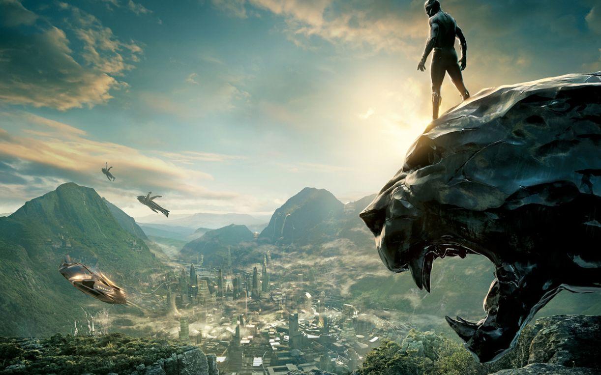 Pantera Negra e o reino de Wakanda