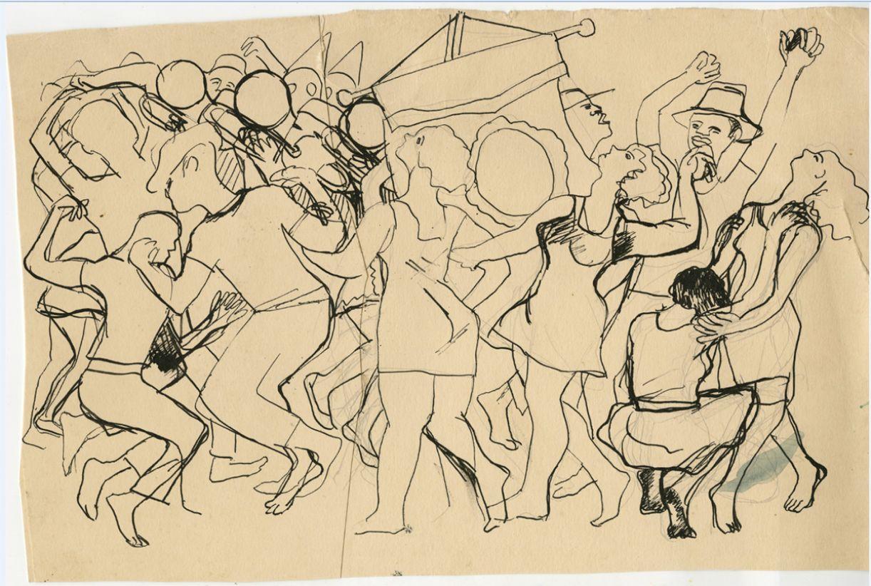 Desenho de José Cláudio
