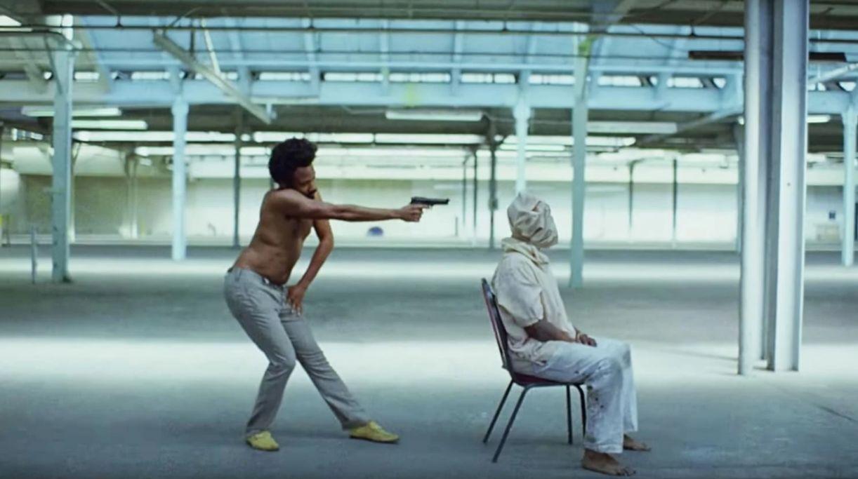 Frame do videoclipe 'This is America', de Childish Gambino