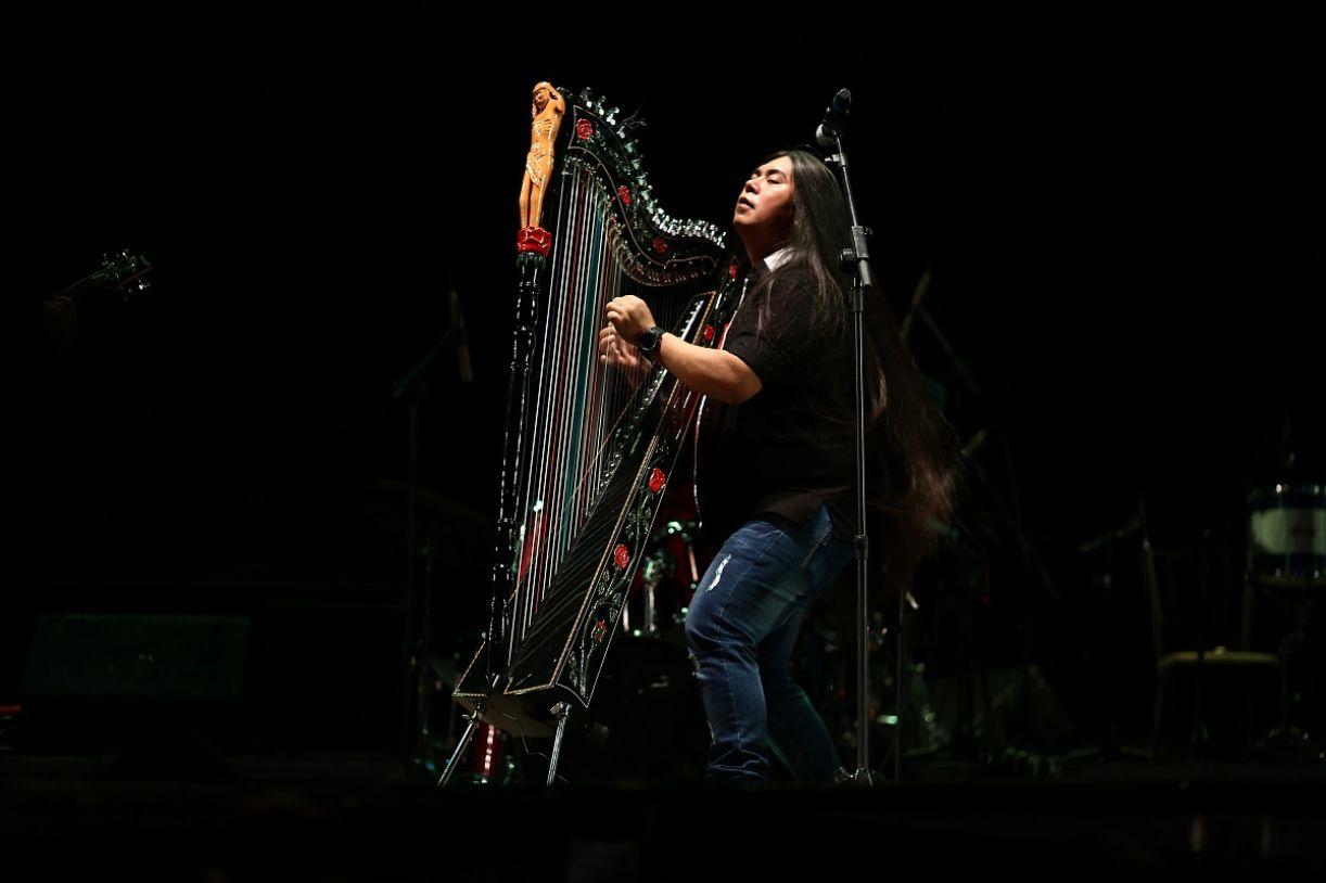 Fabio Kaida (MS) e sua harpa invocada