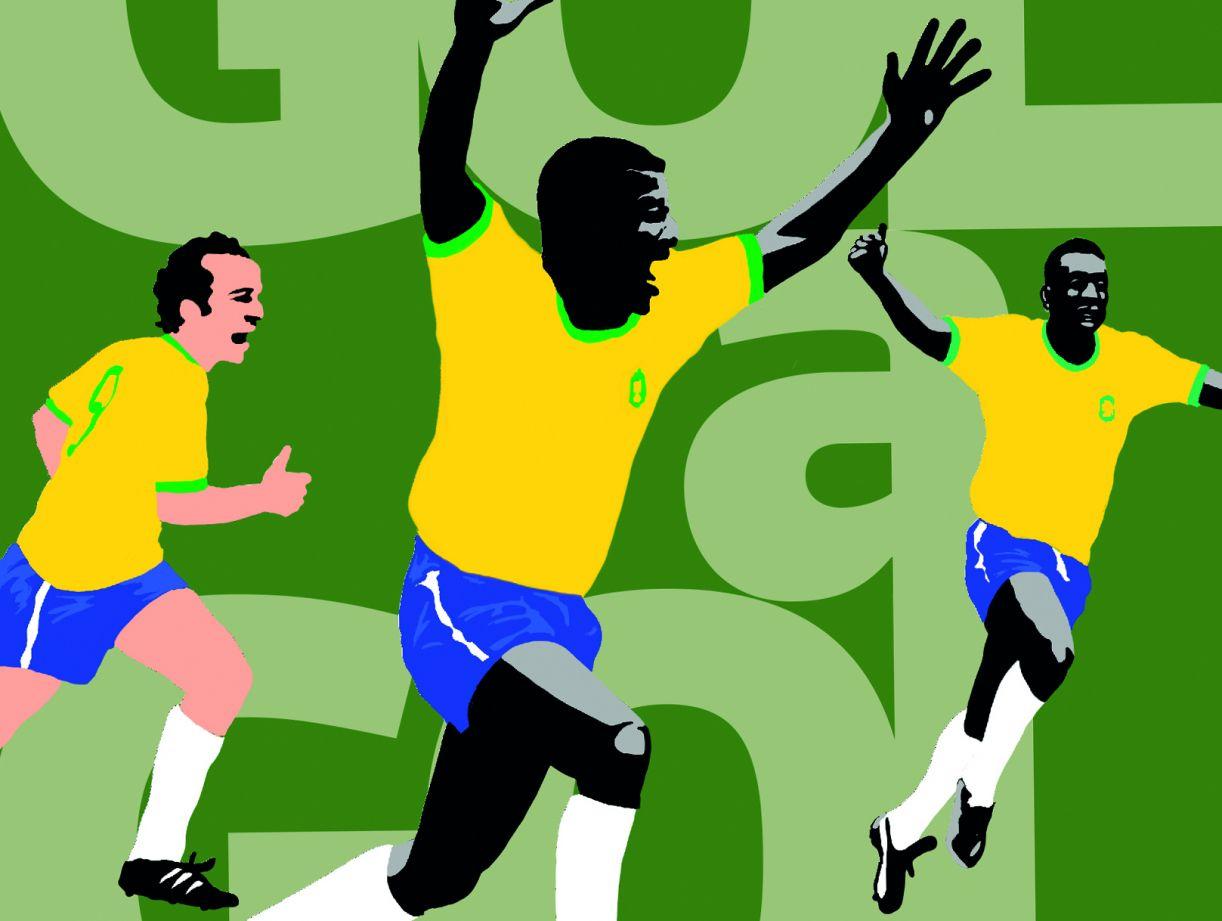 Livro reúne crônicas do jornalista André Teixeira sobre objetos ligados ao futebol, como a bola, a chuteira, o apito, o relógio