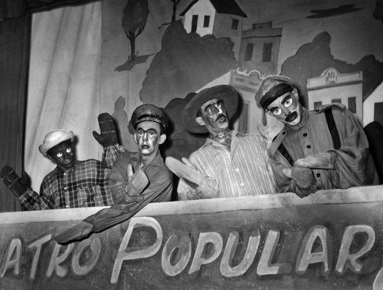 Leonel Albuquerque, Mariene Gouveia, Leda Alves, Maria de Jesus Porto Carreiro (Baccarelli), José Pimentel e Clênio Wanderley ('O processo do diabo' / 'A caseira e a catarina')