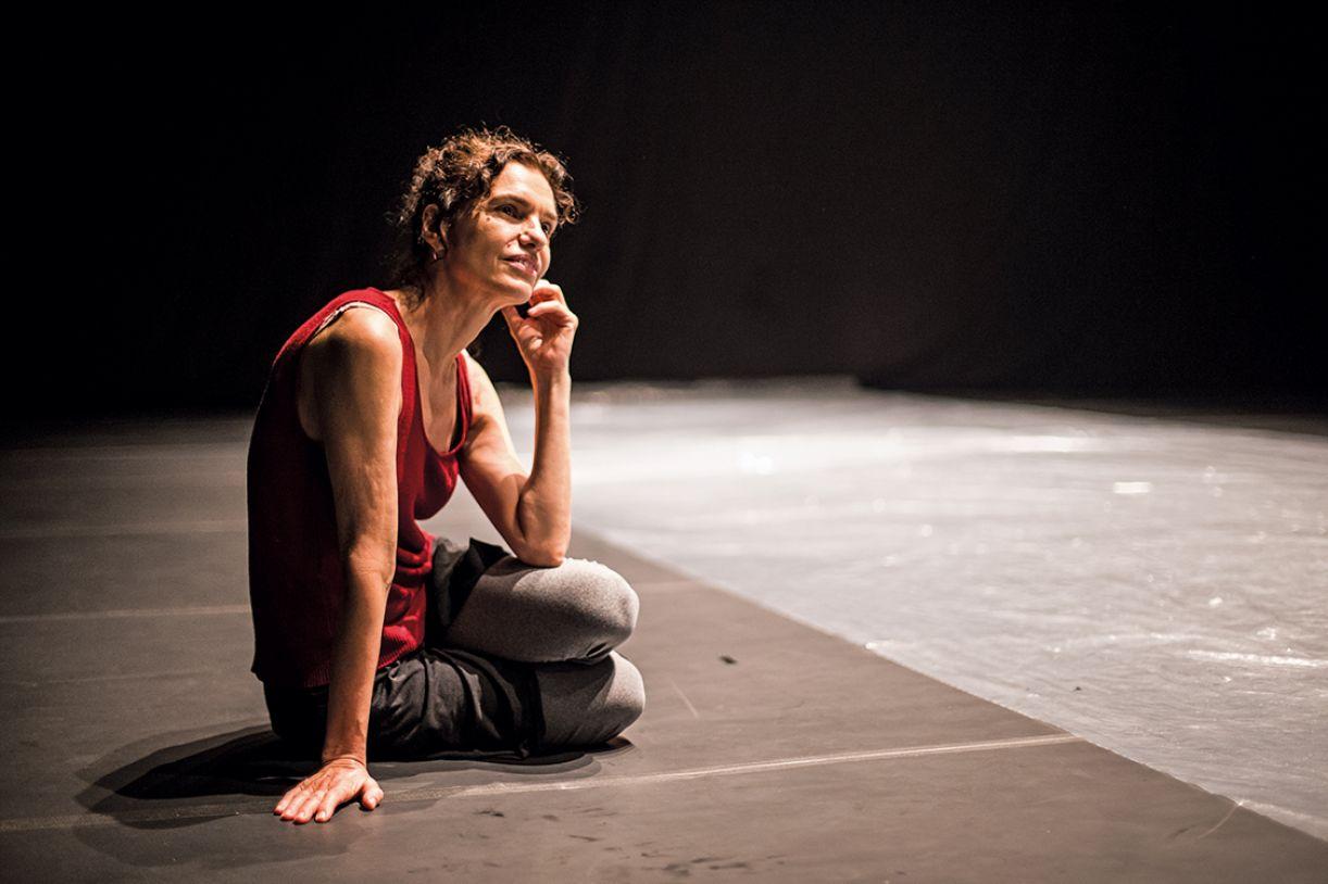 A coreógrafa Lia Rodrigues