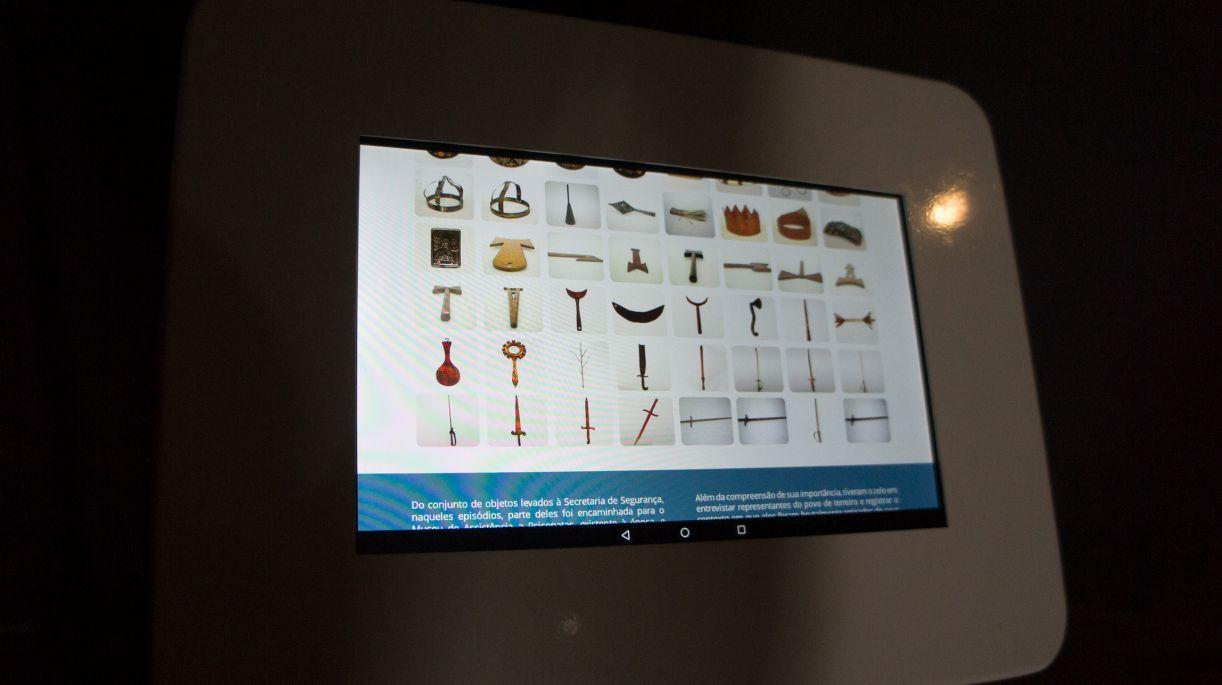 Várias peças estão disponíveis para acesso no Museu da Abolição, Recife