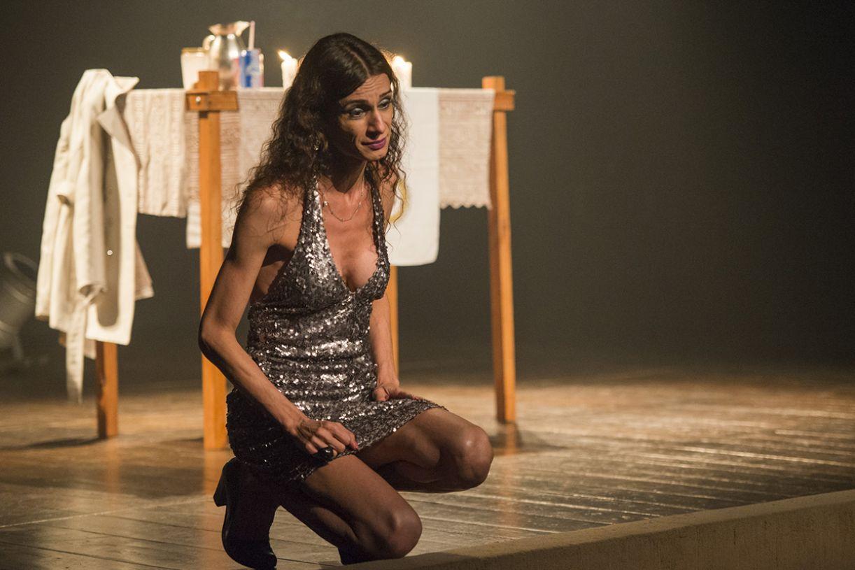 A atriz Renata Carvalho foi censurada por fazer uma Jesus 'trans'