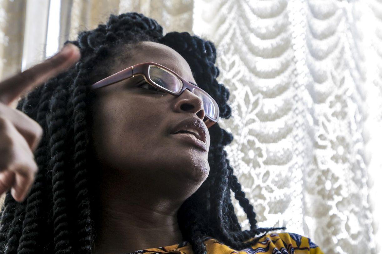 A filósofa ativista Djamila Ribeiro