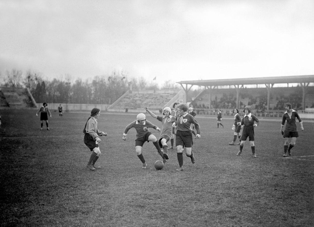 Futebol feminino na França, em 1923