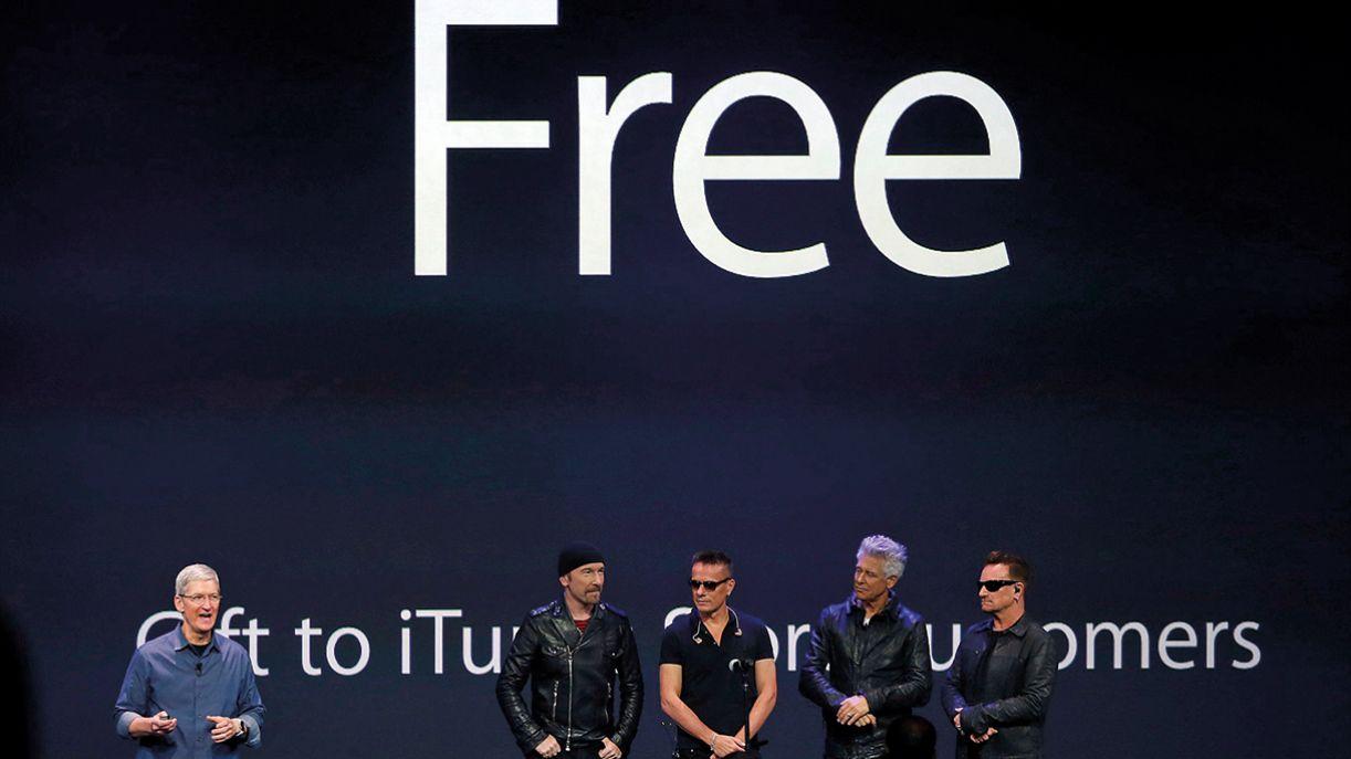 Parceira do U2 com a Apple, que disponibilizou disco no Itunes, foi um fiasco