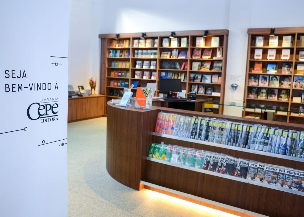 Nova loja da Cepe Editora