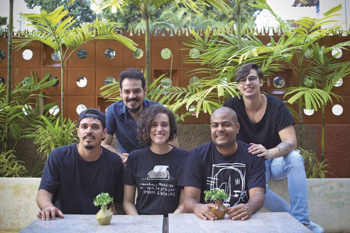 Integrantes do Mesa Coletiva