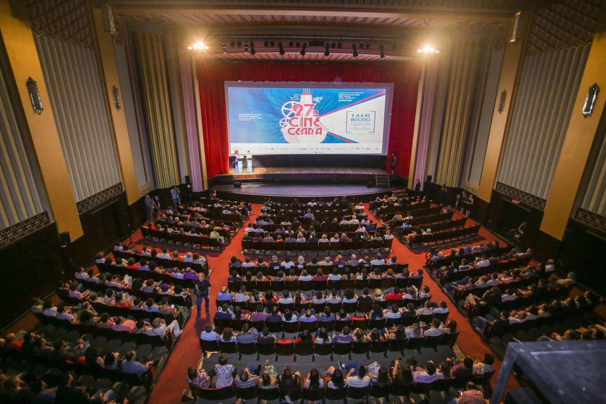 O Cinema São Luiz, de Fortaleza, não chegou a lotar em nenhuma noite, ao contrário do Dragão do Mar às tardes