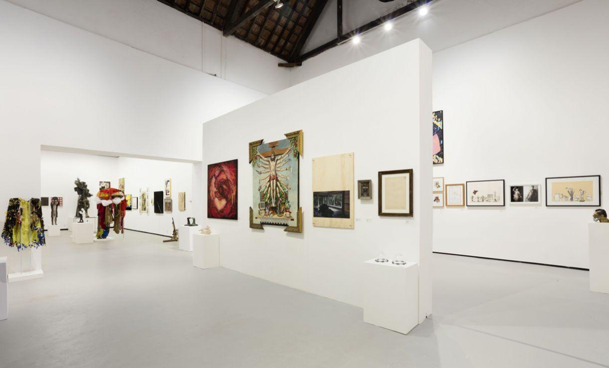Escola de Artes Visuais do Parque Lage, no Rio, onde as obras estão expostas