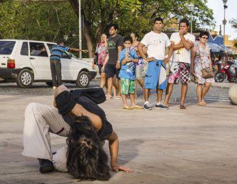 Dança na rua