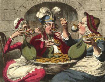 O poder dos banquetes
