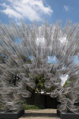 'Bicicletas forever', de Ai Wei Wei. Foto: Carol Quintanilha/Divulgação