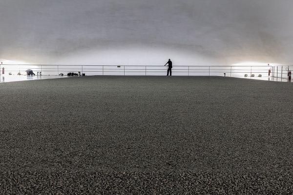 'Sementes de girassol', de Ai Wei Wei. Foto: Carol Quintanilha/Divulgação