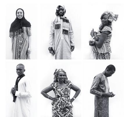 No ensaio que realizou com senegaleses em 2017, Savaris também se dedicou aos retratos individuais