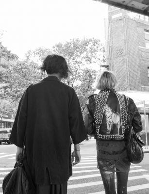 Homens em Nova York, fotografia, Mônica Rodrigues Fernandes