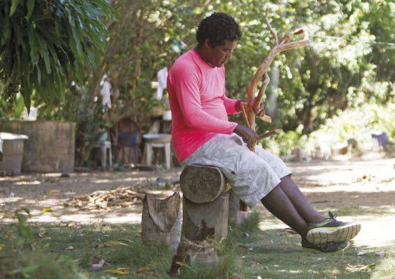 As madeiras de cajueiro e mangueira são as mais utilizadas por Mestre Abias