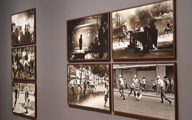 Fotojornalismo de Evandro Teixeira durante ditadura no Brasil dos anos 1960. 'Terra em transe', Fortaleza, Dragão do Mar