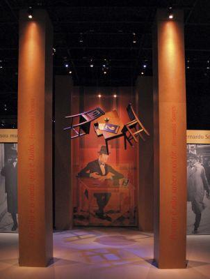 Exposição Fernando Pessoa plural como o universo (2010), no Museu da Língua Portuguesa