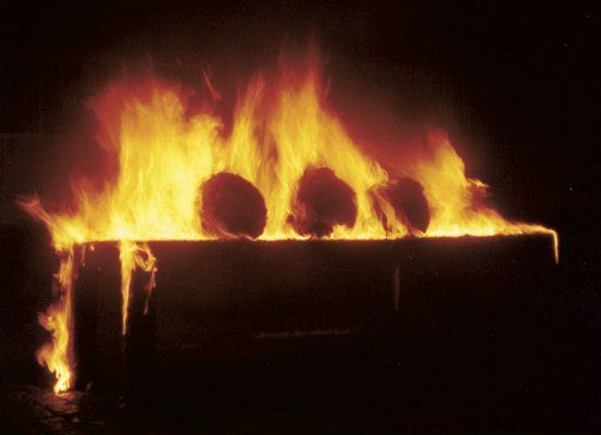 'Desmantelo', ação, 2003