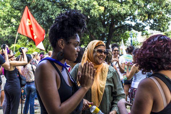 8M, Recife. Parque 13 de Maio. Foto: Ana Lira