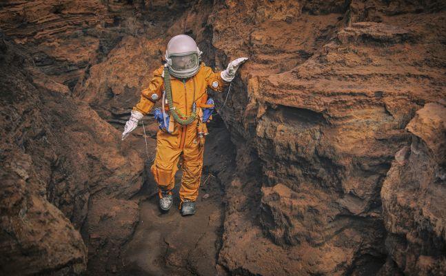 Fotografia para o projeto 'Gossan: Misión a Marte', 2019. Foto: Jesus García Serrano/Divulgação