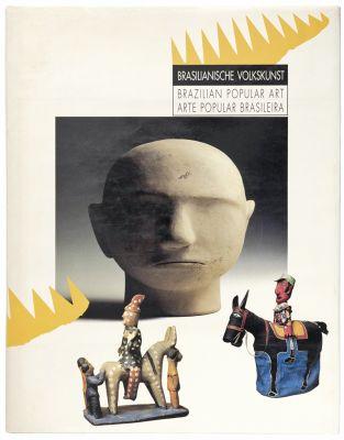 Projeto desenvolvido para a participação da Câmara Brasileira do Livro na Feira de Frankfurt, em 1994. Imagem: Reprodução