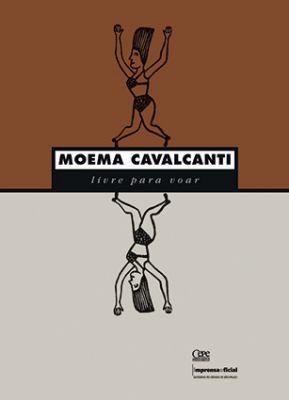 Capa do livro e exemplo de técnicas usadas por Moema, como colagem, fotografia, ilustração e tipografia. Imagem: Reprodução