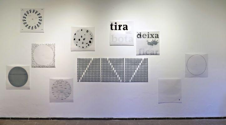 'Escravos de Jó', instalação, 2016