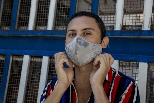 Silvero Pereira em ensaio na capital paulistana. Foto: Jennifer Glass