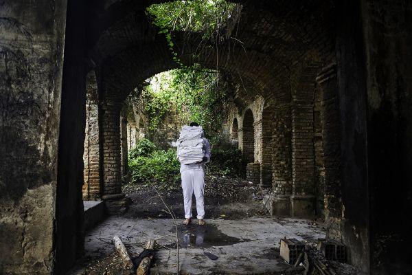 Frame do vídeo 'Passar em branco', de Tiago Sant'Ana. Imagem: Divulgação