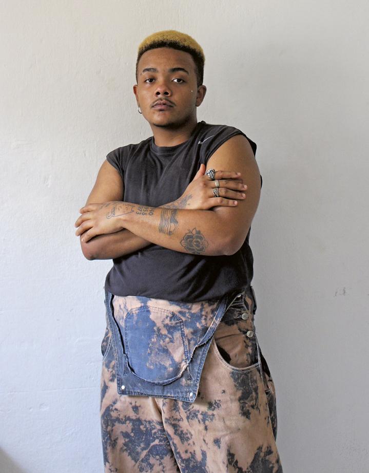 Fotógrafo transmasculino Pedro Jorge AFROP. Foto: Divulgação