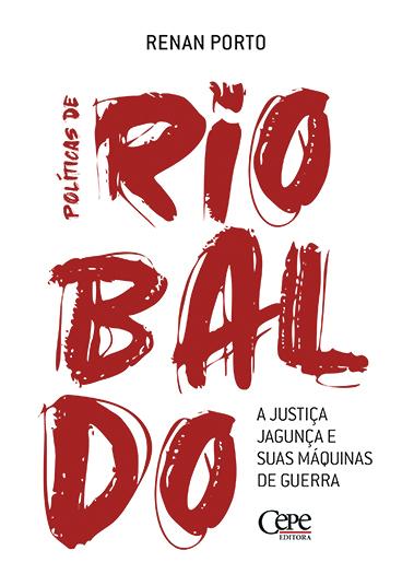 Capa do livro traz título em vermelho sobre fundo branco.