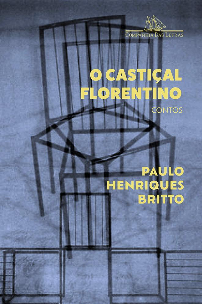Capa do livro 'O castiçal florentino'