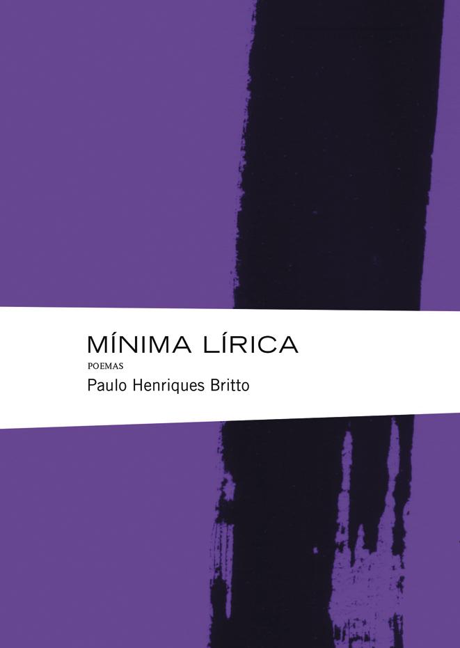 Capa do livro 'Mínima lírica'